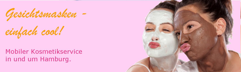 Mobile Kosmetik Hamburg Gesichtsmaske