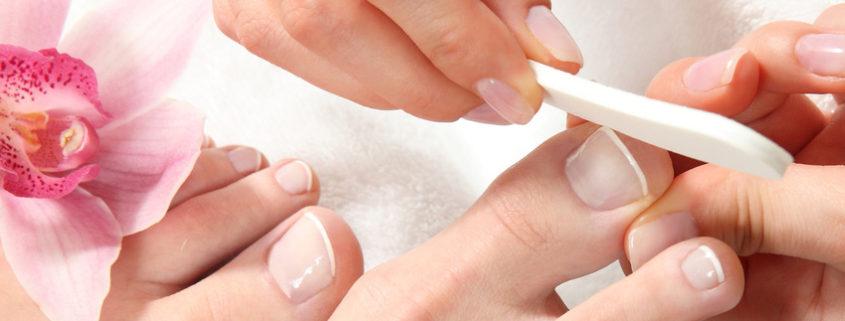 Fusspflege Sommer oder Sommer Pediküre bei Mobile Kosmetik Massage Hamburg
